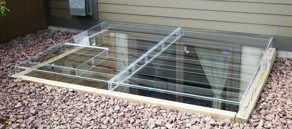Acrylic Egress Window Well Covers Custom Plastics Fargo Nd