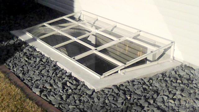 Steel Frame Window Well Cover