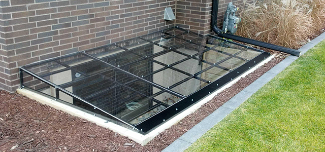 Steel Frame Window Well Covers Custom Plastics Fargo Nd