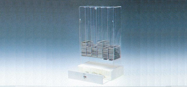 Acrylic Dispenser Gaming Box Vertical Ticket Dispenser